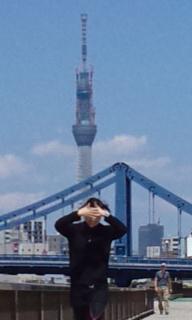 隅田川ランニング