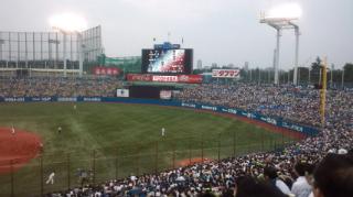 野球観戦〓